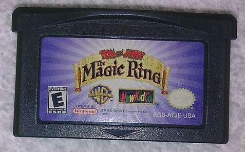gba: tom and jerry the magic ring original americano! jogão!