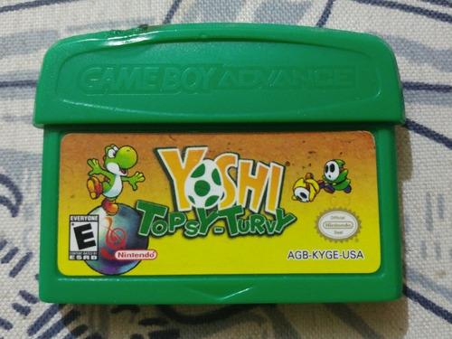 gba: yoshi topsy-turvy original americano!! jogaço!!