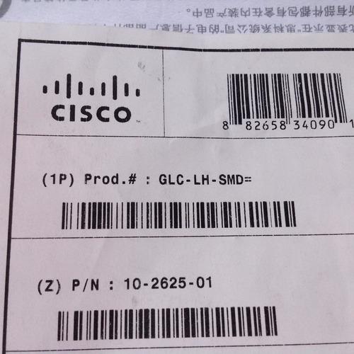 gbic cisco glc-lh-smd nuevo monomodo