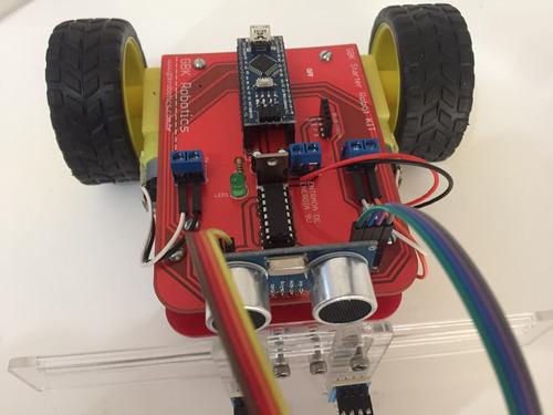 gbk starter robot kit arduino seguidor de linha robótica