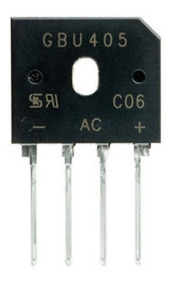 Puente Rectificador 4x KBL10 1000V 4A DC KBL componentes