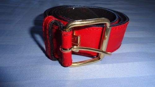 gcci cinturon fendissime by fendi rojo vintage talla l¡¡kors