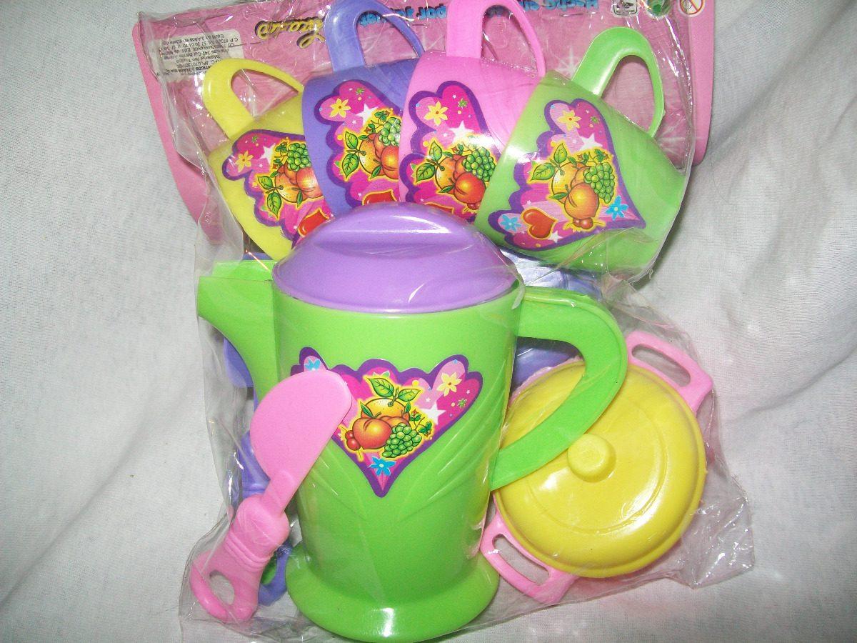 Gcg juego de te chepina juguete de plastico para ni as for Juguetes de plastico