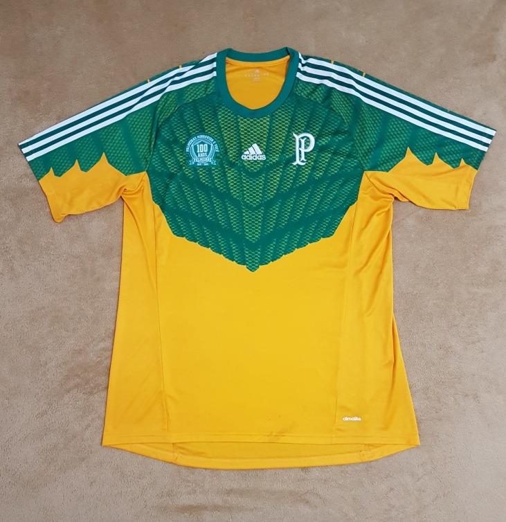 eaa4d359d1 Gcr83 Camisa Oficial Palmeiras 2014 2015 Goleiro Gg 82x56 - R  259 ...