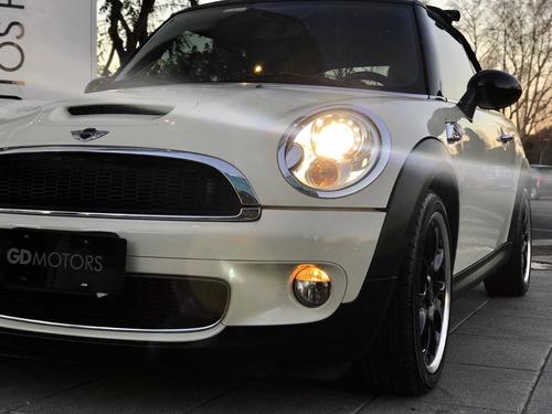 gd motors mini cooper s cabrio, cabriolet 1.6t crudo poco km