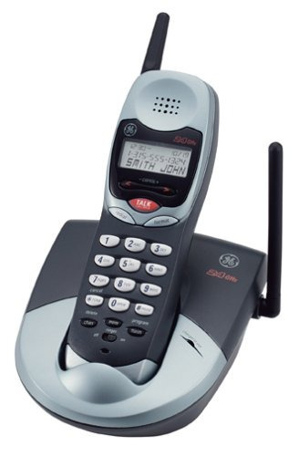 ge 27938ge6 2.4 ghz analog teléfono inalámbrico con identifi