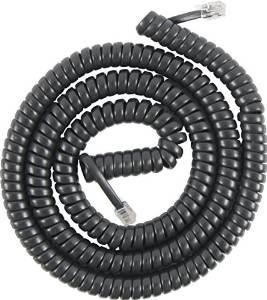 ge 76139 cuerda de la bobina (25 pies, negro)
