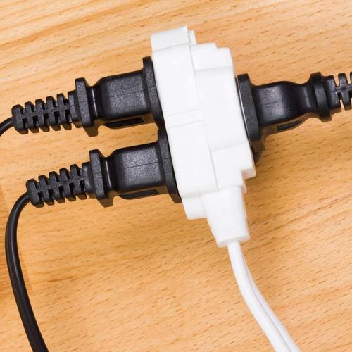 ge cable de extensión 15 ft, 3 enchufe de corriente strip,