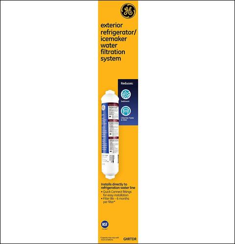 ge gxrtdr sistema de filtración de refrigerador / máquina