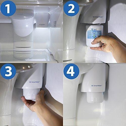 ge mwf comparables refrigerador y filtro de aire combo de ag