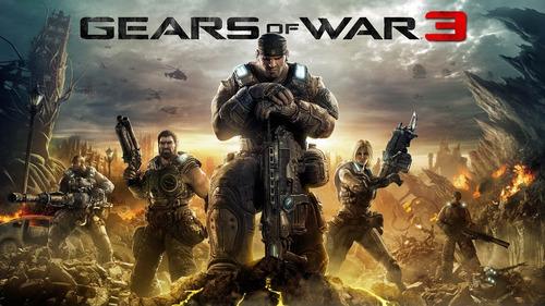 gear of war 3 y judgmente permanente xbox 360