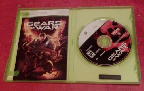 gear of war xbox 360 juego completo
