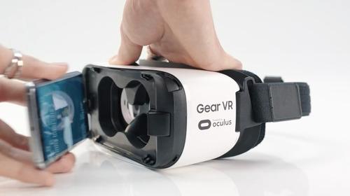 gear vr lente virtual samsung para note 5, s6 edge, edge+