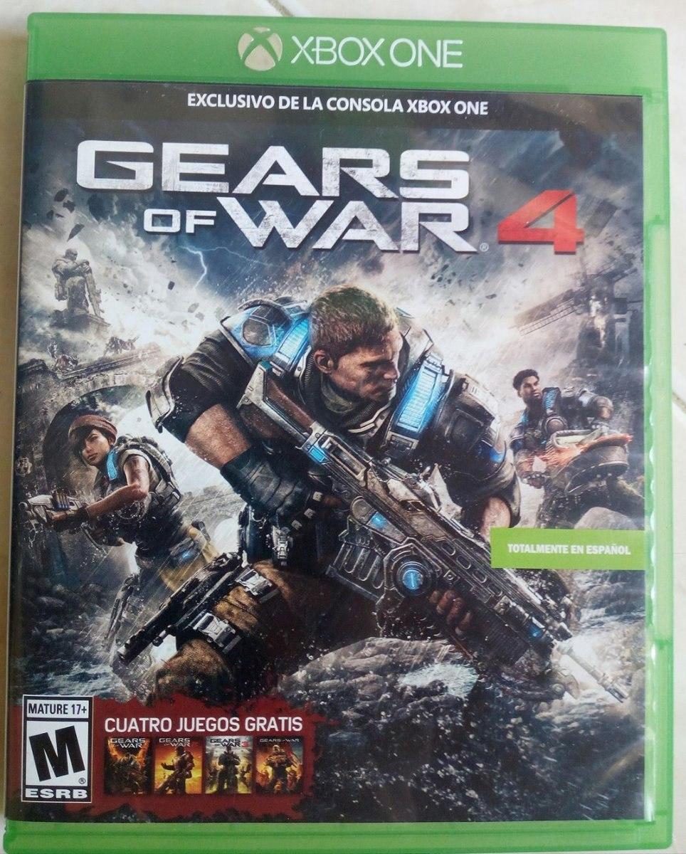 Gear War 4 Para Xbox One 95 500 En Mercado Libre