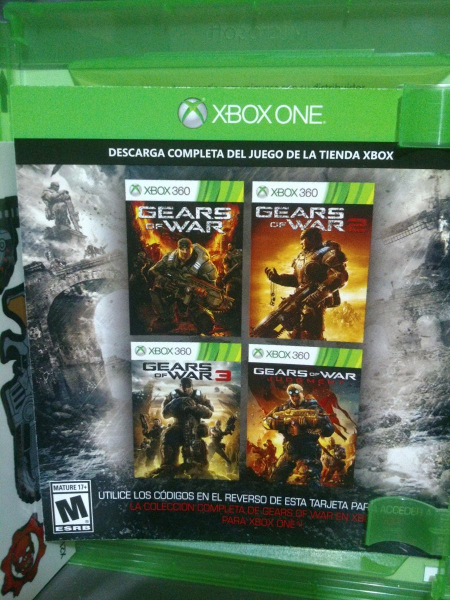 Gears Of War 1 2 3 Y Judgment Xbox One O 360 Envio Gratis 345 00