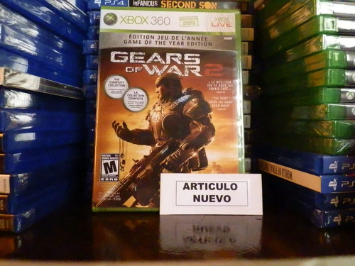 gears of war 2 game of the year - fisico - xbox 360