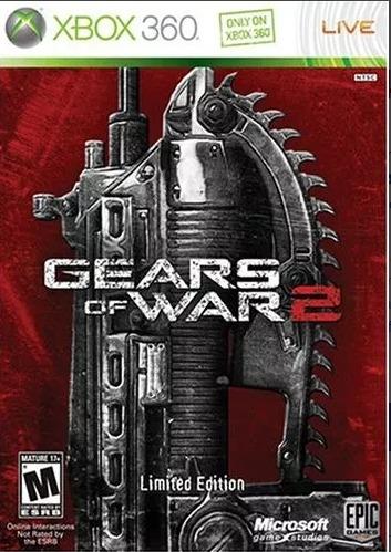 gears of war 2 lancer dorado edicion limitada xbox 360
