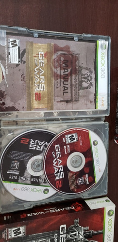 gears of war 2 limited edition xbox 360!!