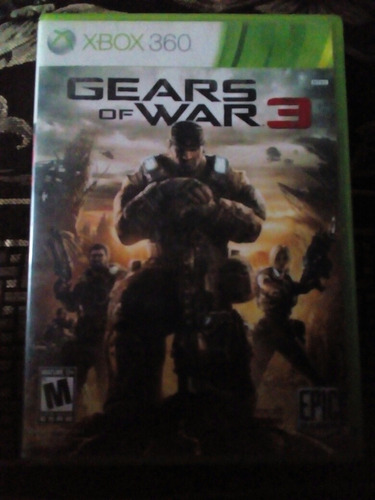 gears of war 3 (ingles)