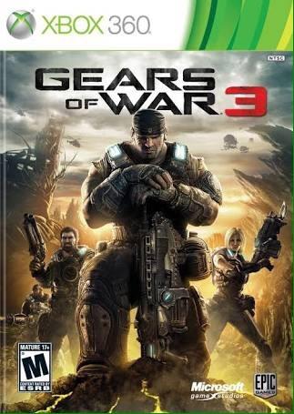 gears of war 3 juego xbox 360 en inglés