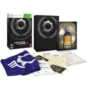 gears of war 3. limited edition. xbox 360. nuevo y sellado