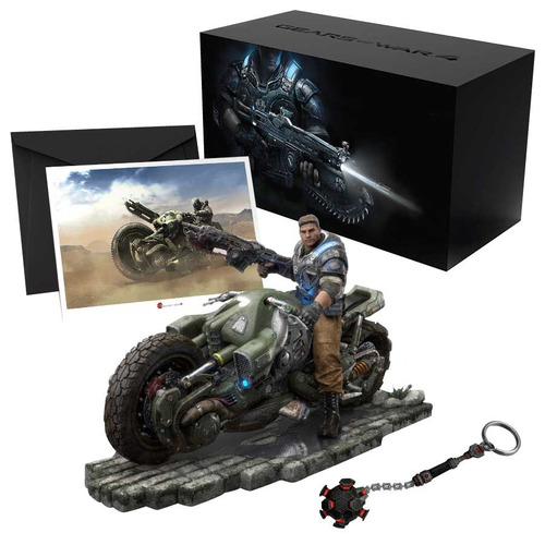 gears of war 4 collectors edition nuevo sellado sin juego