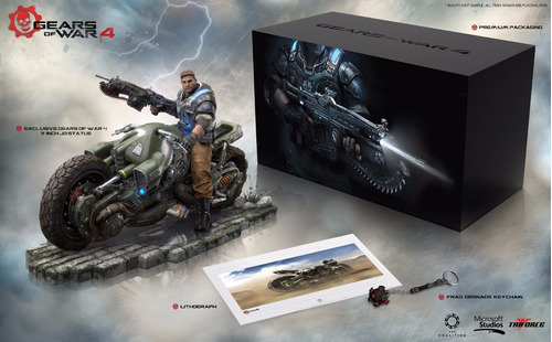 gears of war 4 collectors edition xbox one no incluye juego