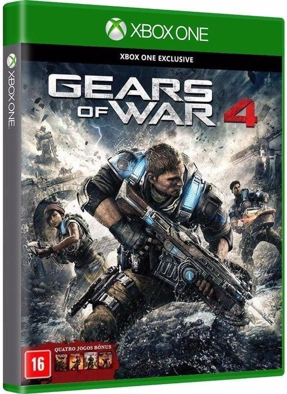 Gears Of War 4 (com 4 Jogos De Bonus, Mídia Física) Xbox One