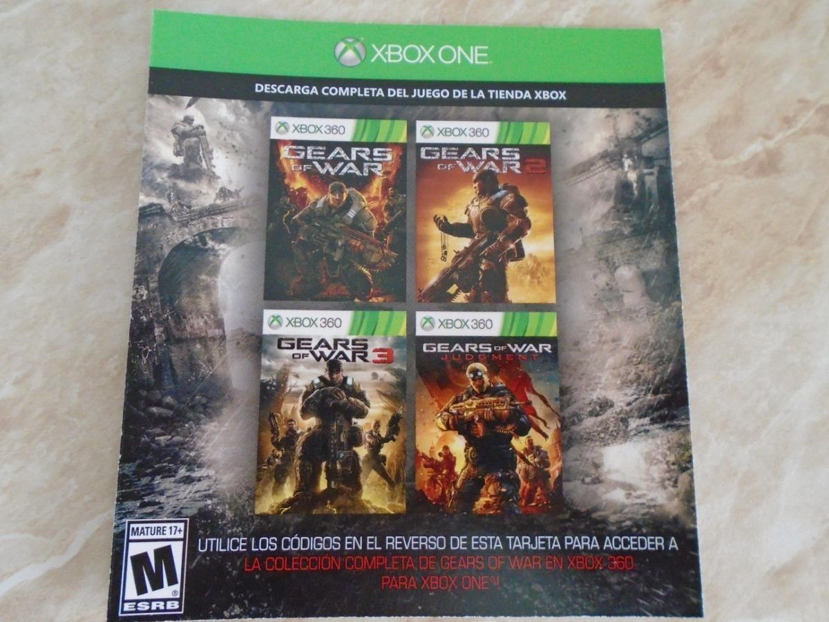Gears Of War 4 Xbox One Disco Gratis Gears 1 2 3 Judgment