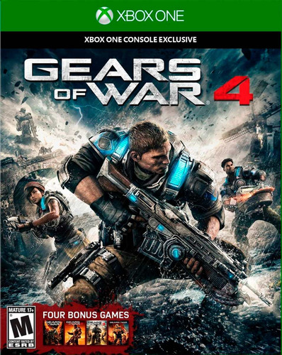 gears of war 4 xbox one nuevo original domicilio - jxr