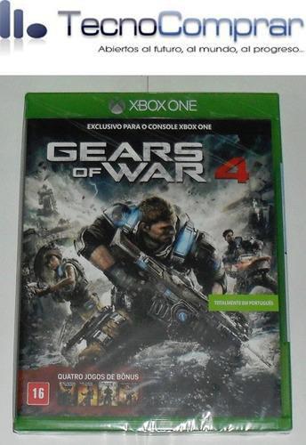 gears of war 4 ( xbox one ) nuevo!!! sellado