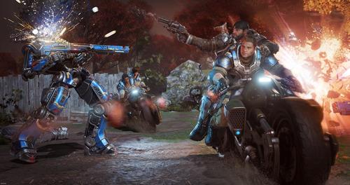 gears of war 4 xbox one/pc digital entrega inmediata