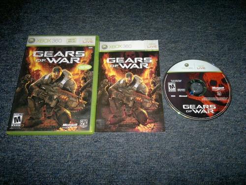 gears of war completo para xbox 360,excelente titulo,checalo