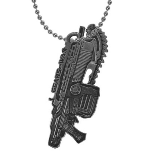 gears of war dije collar lancer marcus plateado