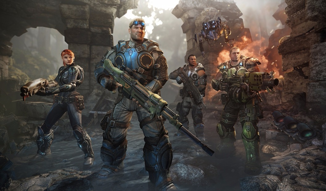 Resultado de imagen para gears of war judgment artwork