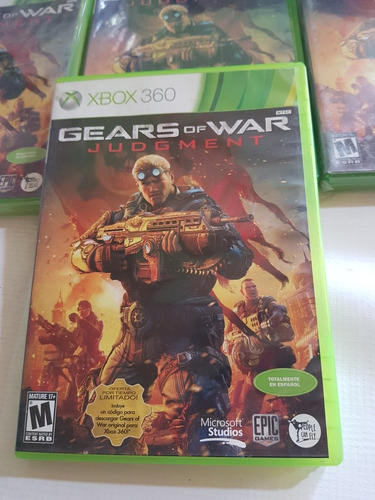 gears of war junment incluye gears 1 descargable.