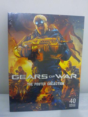 gears of war livro poster_ lacrado