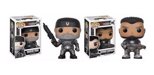 Vinyl Figure Gears Of War Funko Pop Marcus Fenix Old Man