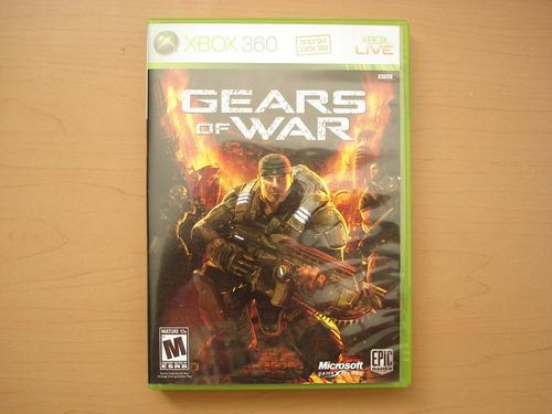 gears of war para xbox 360 en excelente estado - rtg +++++