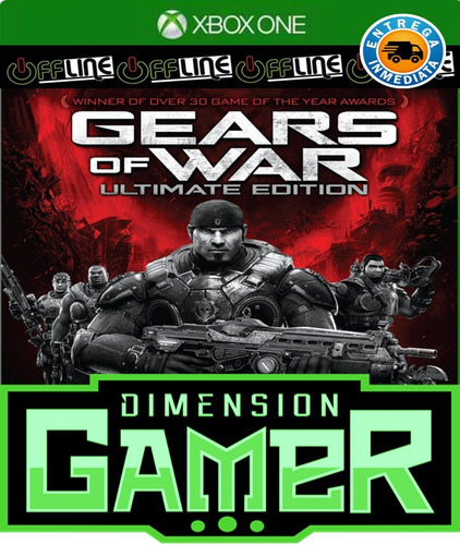 gears of war ultimate - xbox one - n codigo offline