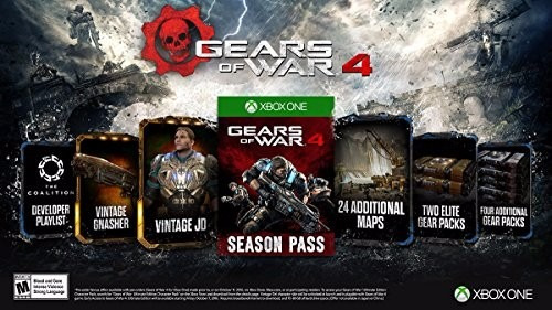 gears of wars 4 edi ultimate + pase de temporada xbox y pc