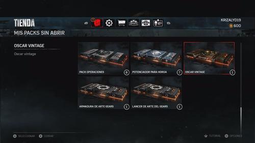 gears war gear