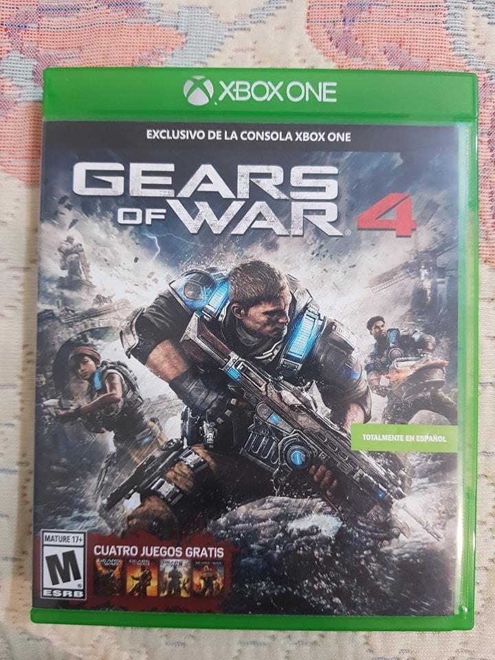 Vendo O Cambio Gears Of War 4 Juegos Xbox One 500 00 En