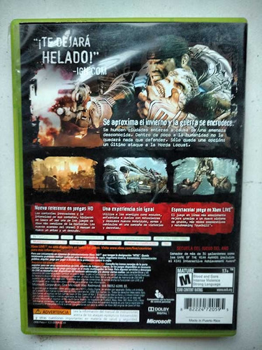 gears war (xbox 360)