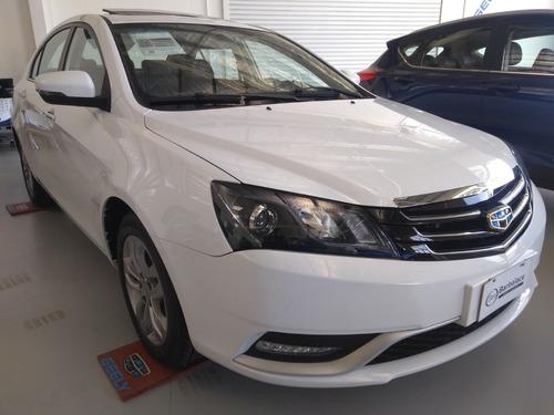 geely emgrand 7 automatico 6ta. 4 puertas 0km 2018