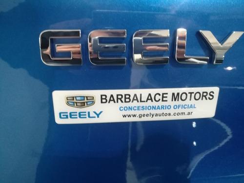 geely emgrand gs balance 2018 0km entrega inmediata
