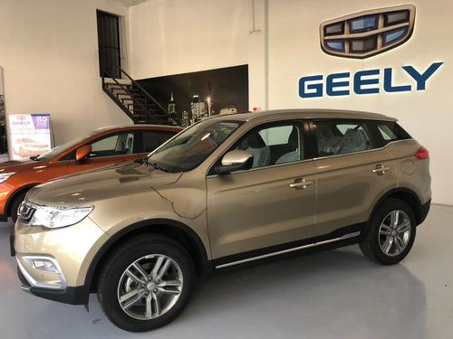 geely emgrand x7 sport 2018 4x2 a/t tenela con tasa 0%