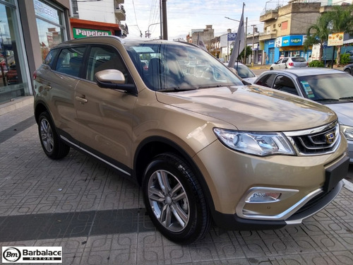 geely emgrand x7 sport 2.4 active 4x2 automatica 0km 2019