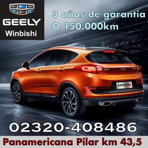 geely gsp a/t 2018 winbishi te da mas
