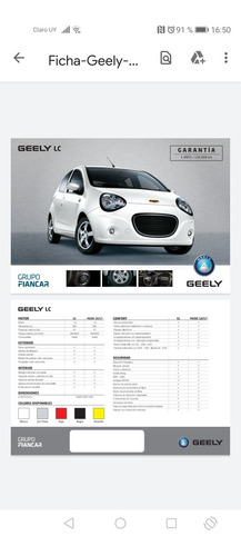 geely lc 2016 1.0 gb
